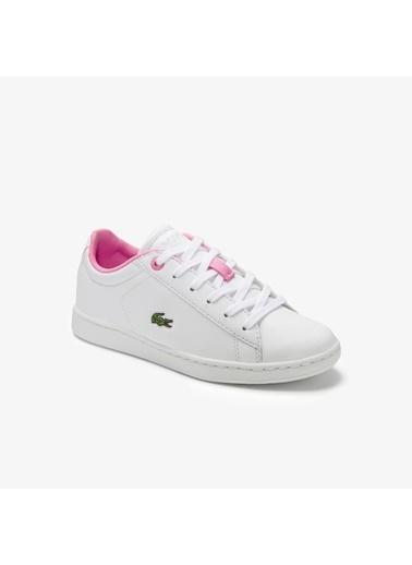 Lacoste Unisex Çocuk Carnaby Evo Sneakers 740SUC0002.1Y9 Beyaz